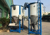 Motor 6-15 Kw Plastic Material Mixing Machine , 1000L Vertical Structure Plastic Mixture Machine