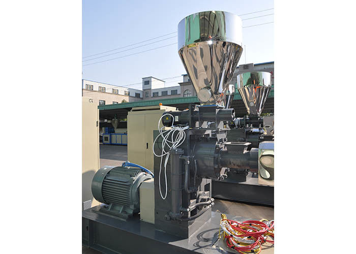 Power 1.5kw Force Feeder Machine Capacity 80-100 Kg/H Screw Feeding Model