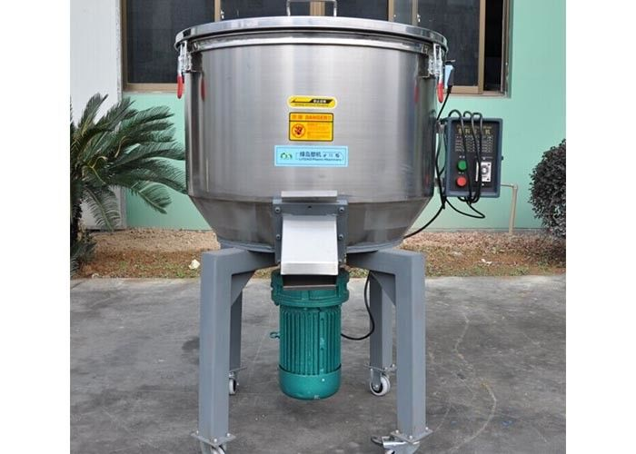 Durable Plastic Mixer Machine 700*750*1100mm With Mixed Materials Barrel Body