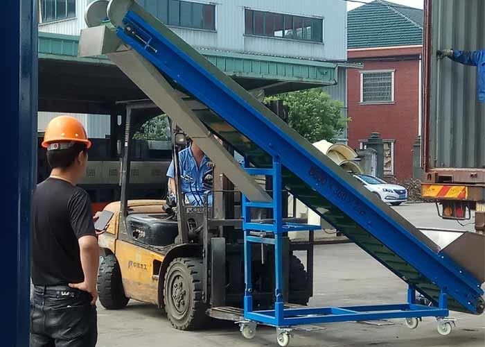Automatic Plastic Conveyor System Accurate Transportation Magnetic Force 3000gauss