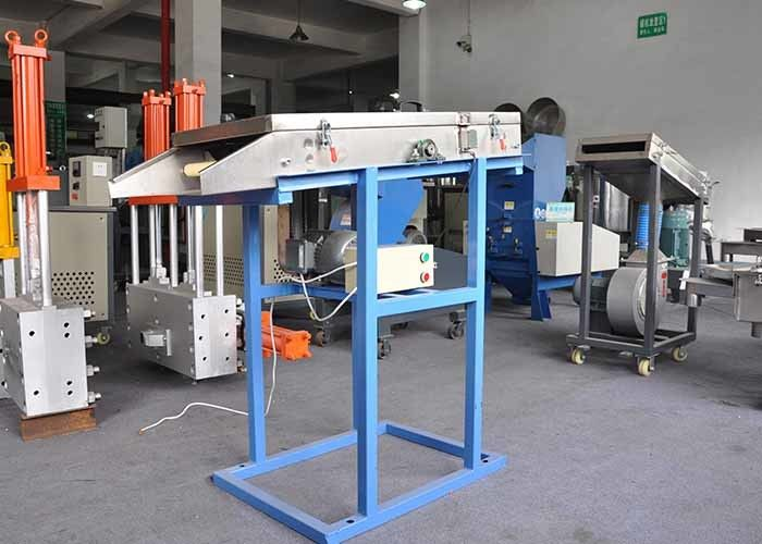 0.75 KW Granulating Drawing Stainless Steel Blower , Smooth Bearings Regenerative Blower
